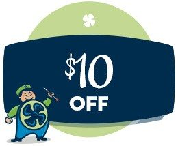 HVAC savings - $10 off coupon