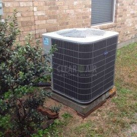 Residential HVAC project by the HVAC experts at Clear the Air.