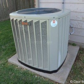 Residential HVAC project by the experts at Clear the Air.