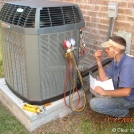 HVAC residential project by the experts at Clear the Air.