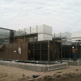 ECHO commercial HVAC project by Clear the Air.
