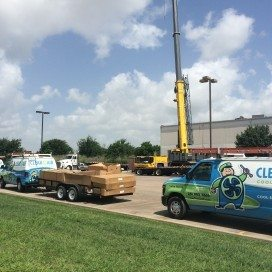 Fiserv commercial HVAC project by Clear the Air.
